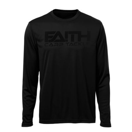 Long Sleeve Shirt Black M - afbeelding 1