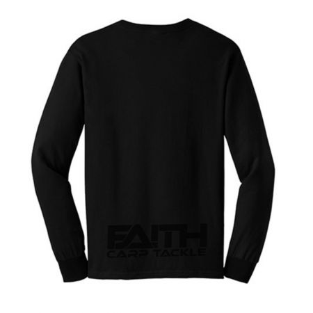 Long Sleeve Shirt Black M - image 2